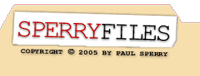 Paul Sperry - SperryFiles.com